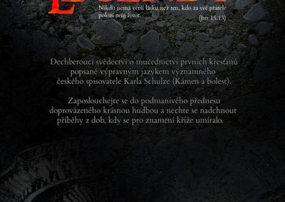 Plakát A3 k CD mluveného slova, (2009)