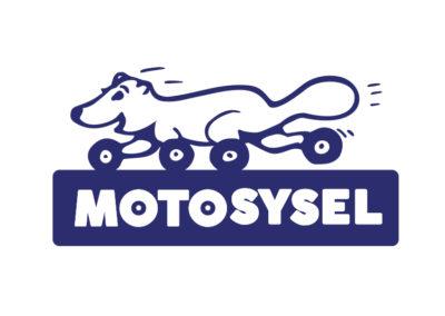 Motosysel, logo pro jednorázovou akci mých kamarádů, kteří pořádají báječné akce pro děti