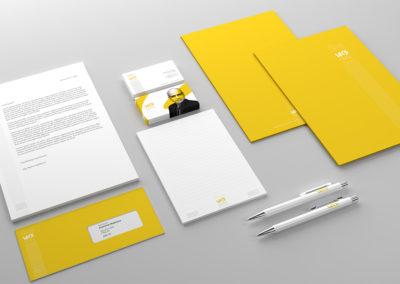 Nová vizuální identita a logo pro realitní kancelář LET'S HOME.
