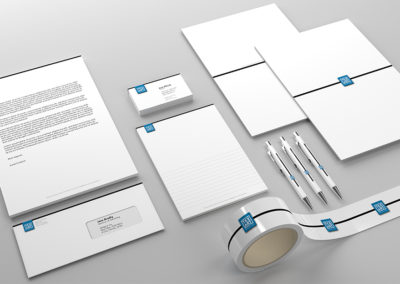 Vizuální identita pro firmu TexArt, zabývající se velkoplošným tiskem na textil a výrobou světelných rámů.