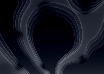 Vrstevnice v černé díře